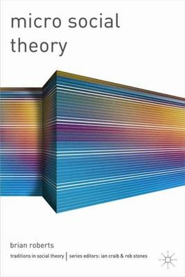 Micro Social Theory - Traditions in Social Theory S. (Paperback)