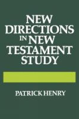 New Directions in New Testament Study (Hardback)
