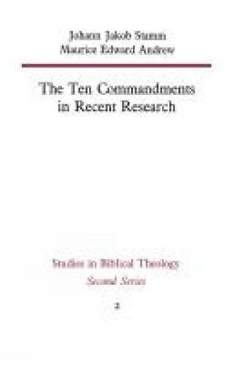 The Ten Commandments in Recent Research (Paperback)
