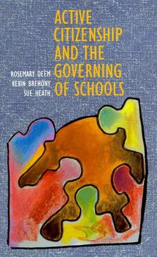Active Citizenship and the Governing of Schoolsaa (Paperback)