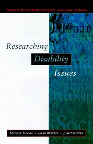Researching Disability Issues (Paperback)