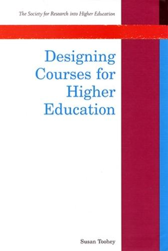 Designing Courses For Higher Education (Paperback)