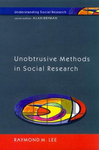 Unobtrusive Methods in Social Research (Paperback)
