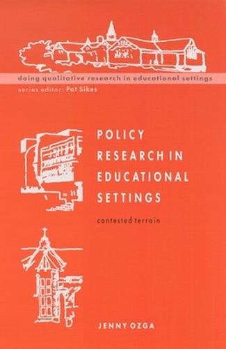 Policy Research in Educational Settings (Paperback)