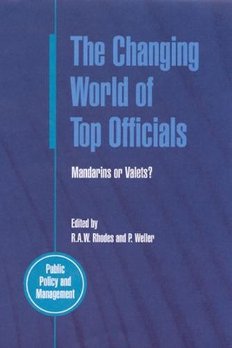 The Changing World of Top Officials (Paperback)