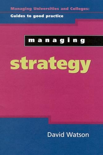 Managing Strategy (Paperback)
