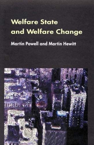 Welfare State And Welfare Change (Paperback)