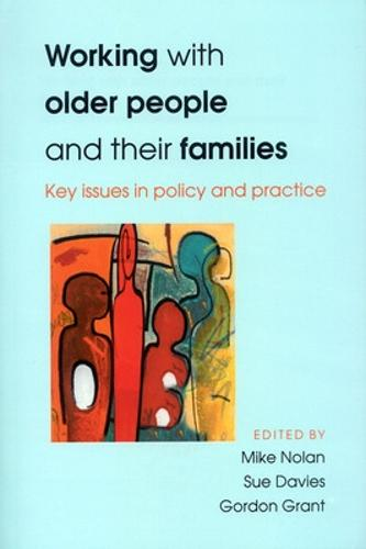 Working With Older People And Their Families (Paperback)