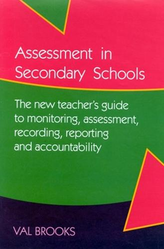 ASSESSMENT IN SECONDARY SCHOOLS (Paperback)