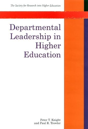 Departmental Leadership in Higher Education (Paperback)