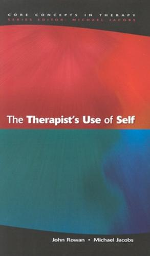 The Therapist's Use Of Self (Paperback)
