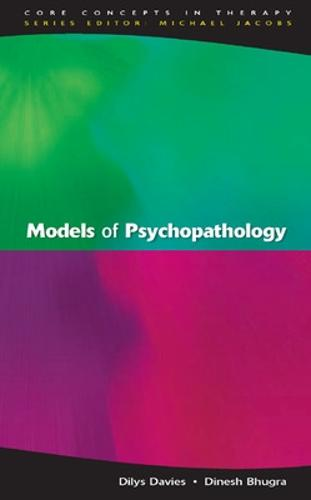 Models Of Psychopathology (Paperback)