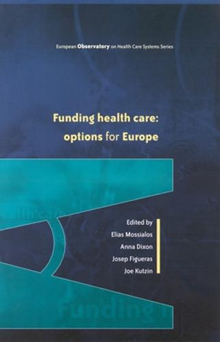 Funding Health Care (Paperback)