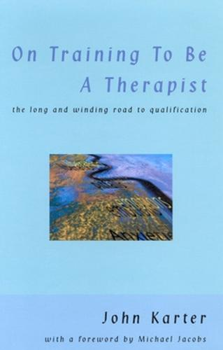 On Training To Be A Therapist (Paperback)