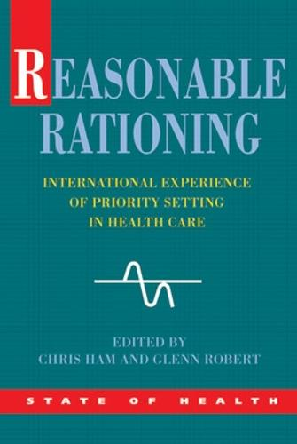 Reasonable Rationing (Paperback)