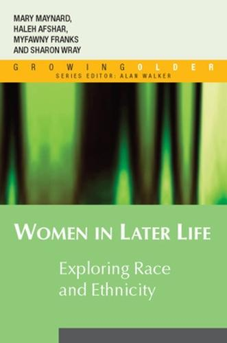 Women in Later Life: Exploring Race and Ethnicity (Paperback)