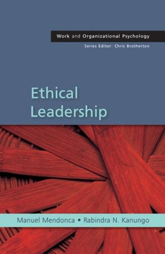 Ethical Leadership (Paperback)