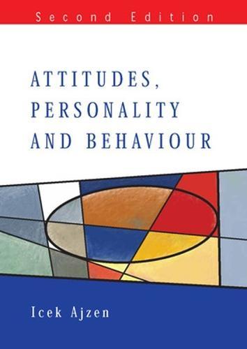 Attitudes, Personality and Behaviour (Paperback)