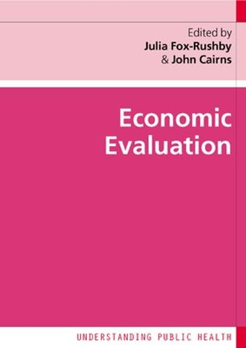 Economic Evaluation (Paperback)