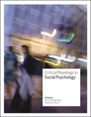 Critical Readings in Social Psychology (Paperback)