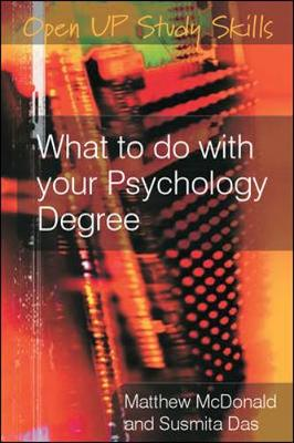 Cover What to do with your Psychology Degree