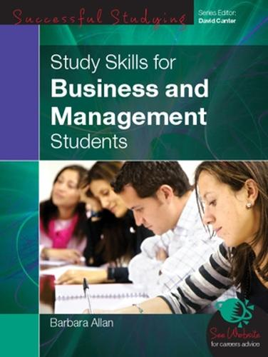 Study Skills for Business and Management Students (Paperback)