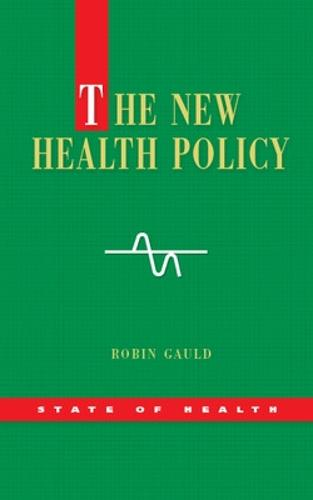 The New Health Policy (Paperback)