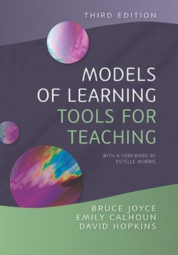 Models of Learning, Tools for Teaching (Paperback)