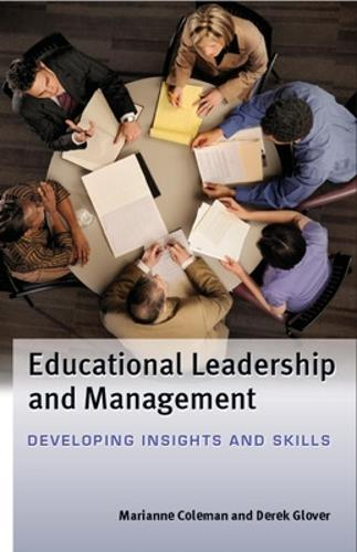 Educational Leadership and Management: Developing Insights and Skills (Paperback)