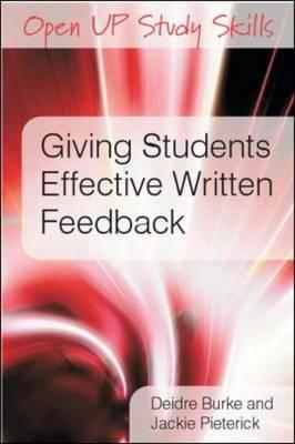 Giving Students Effective Written Feedback (Hardback)