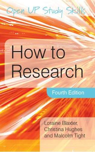 How to Research (Paperback)