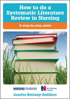 doing a literature review in health and social care a practical guide paperback Buy doing a literature review in health and social care: a practical guide: a practical guide 2 by helen aveyard (isbn: 9780335238859) from amazon's book store.