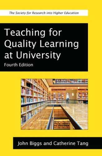 Teaching for Quality Learning at University (Paperback)
