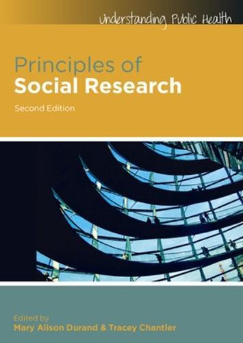Principles of Social Research (Paperback)