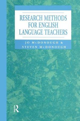 Research Methods for English Language Teachers (Paperback)