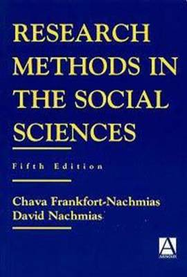 Research Methods in the Social Sciences (Paperback)