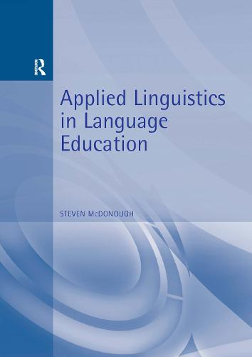 Applied Linguistics in Language Education (Paperback)