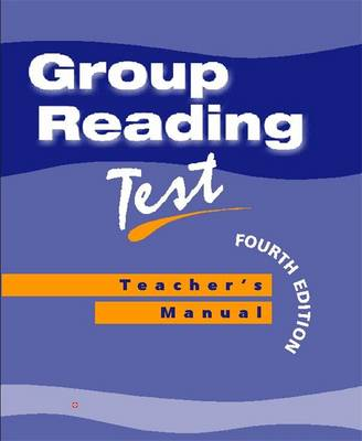 Group Reading Test: Specimen Set - Group Reading Tests