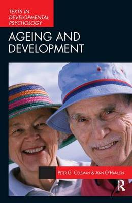 Aging and Development: Social and Emotional Perspectives - International Texts in Developmental Psychology (Paperback)