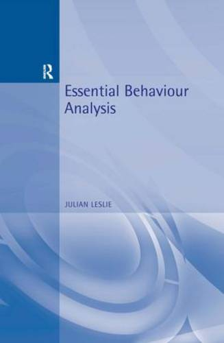 Essential Behaviour Analysis - Essential Psychology (Paperback)