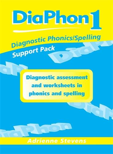 Diaphon Diagnostic Phonics/Spelling Support Pack 1: DiaPhon Diagnostic Phonics/Spelling Support Pack 1 Support Pack 1 (Spiral bound)
