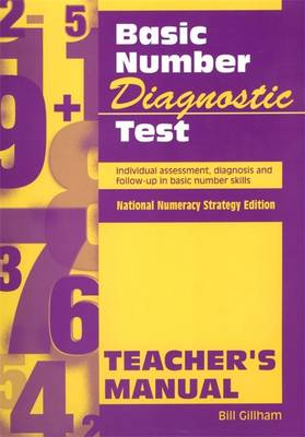 Basic Number Diagnostic Test Pk 10: Individual Assessment, Diagnosis and Follow-Up in Basic Number Skills