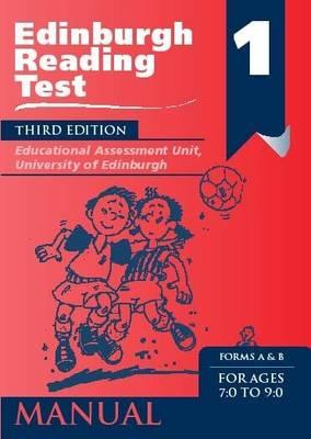 Edinburgh Reading Test (ERT) 1 Specimen Set: A Series of Diagnostic Teaching AIDS - Edinburgh Reading Tests