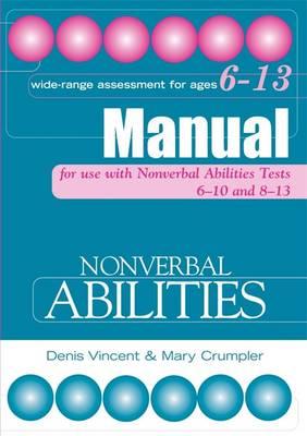 Nonverbal Abilities Tests Manual - Nonverbal Abilities Tests (Paperback)