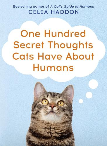 One Hundred Secret Thoughts Cats have about Humans (Paperback)