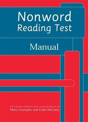 Nonword Reading Test: Specimen Set