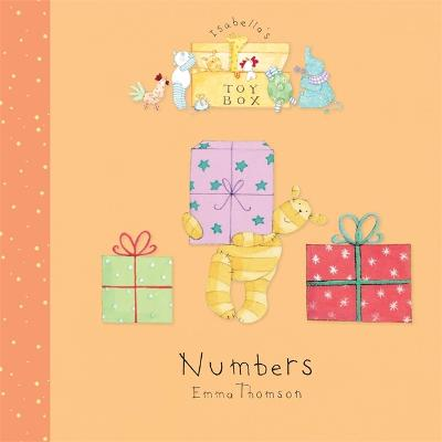 Isabella's Toybox: Numbers Board Book - Isabella's Toybox (Board book)