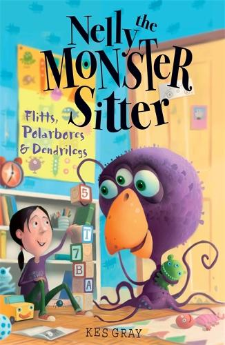 Nelly The Monster Sitter: Polarbores, Digdiggs and Dendrilegs: Book 4 - Nelly the Monster Sitter (Paperback)