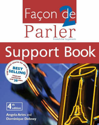Facon De Parler 1 Student Book 4th Edition: French for Beginners (Paperback)