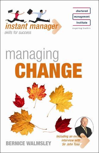 Instant Manager: Managing Change - IMC (Paperback)